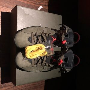 TRAVIS SCOTT JORDAN 6's BRAND NEW SZ 11